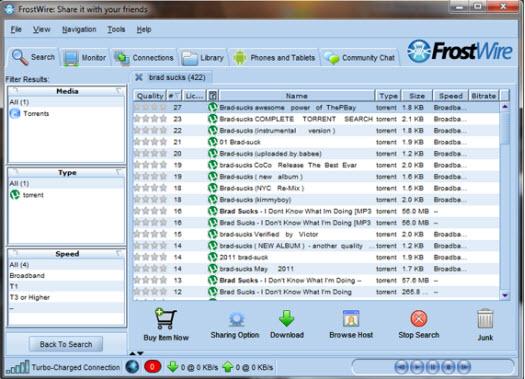 12 FrostWire Alternatives & Similar Software Top Best Alternatives